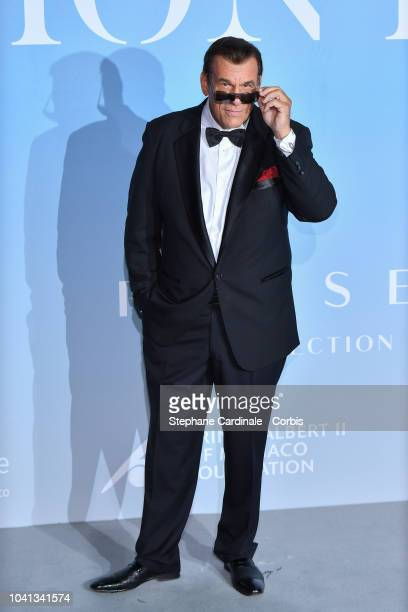 Robert Davi attends the MonteCarlo Gala for the Global Ocean 2018 on September 26 2018 in MonteCarlo Monaco