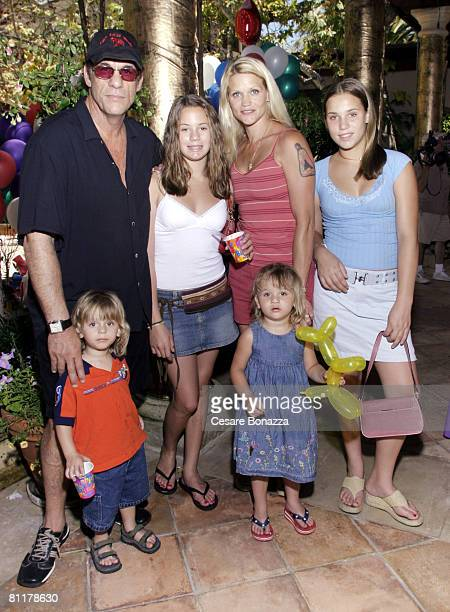 Robert Davi with wife Christine Bolster and family