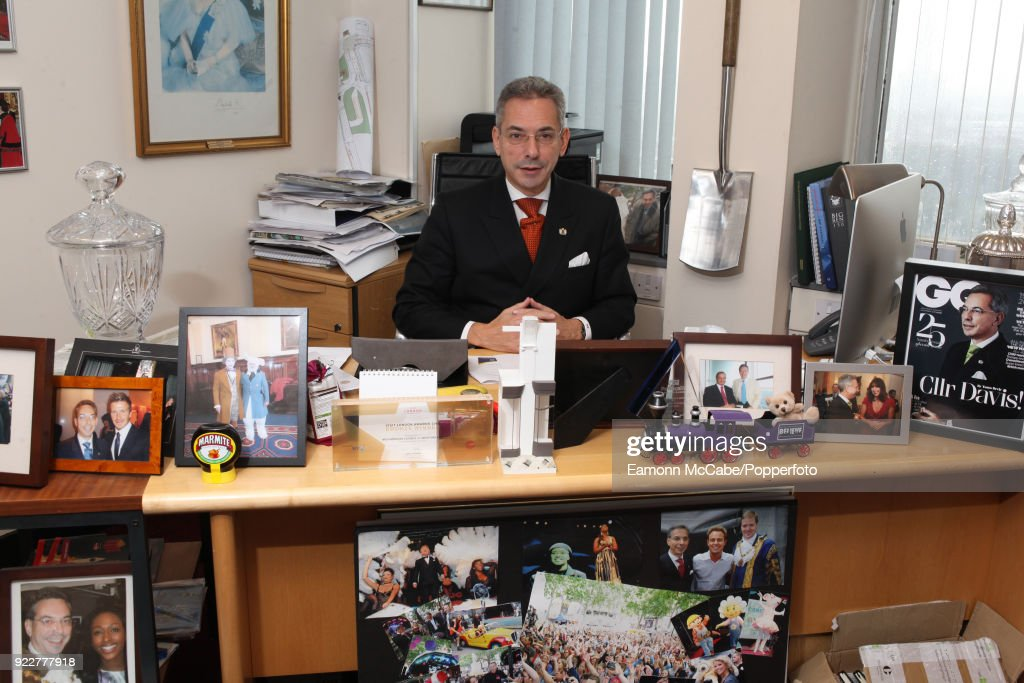 Robert Davis, deputy leader of Westminster council and former chair of of the council's planning committee pictured in his office in London, 9th October 2013. In 2018 he referred himself to the authority's monitoring office after it was revealed he had received entertainment, meals and gifts more than 500 times in three years.