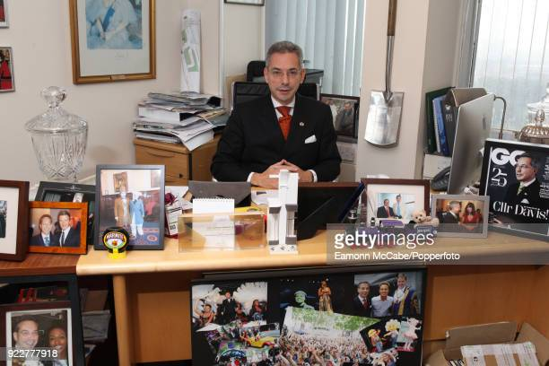 Robert Davis deputy leader of Westminster council and former chair of of the council's planning committee pictured in his office in London 9th...