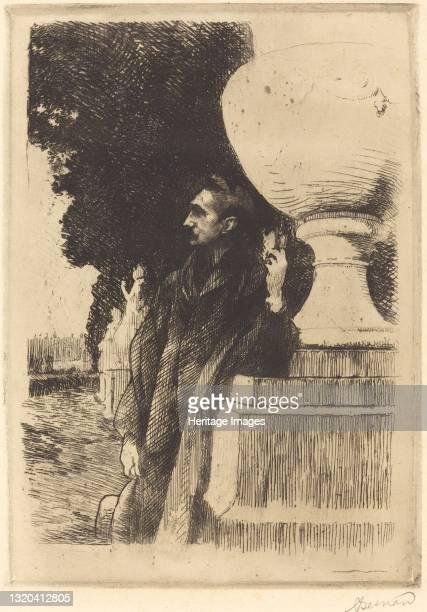 Robert de Montesquiou, 1899. Artist Paul Albert Besnard.