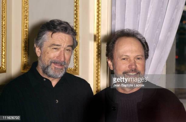 Robert De Niro and actor/executive producer Billy Crystal
