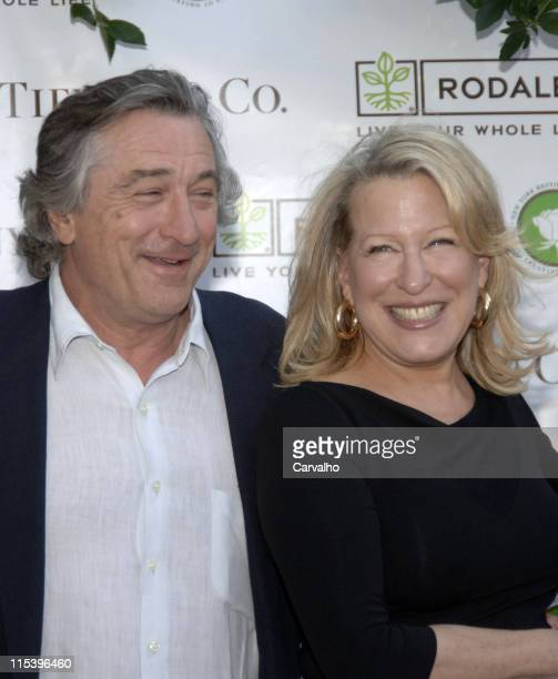 Robert De Niro and Bette Midler during Bette Midler's New York Restoration Project Celebrates the Opening of the Rodale Pleasant Park Community...