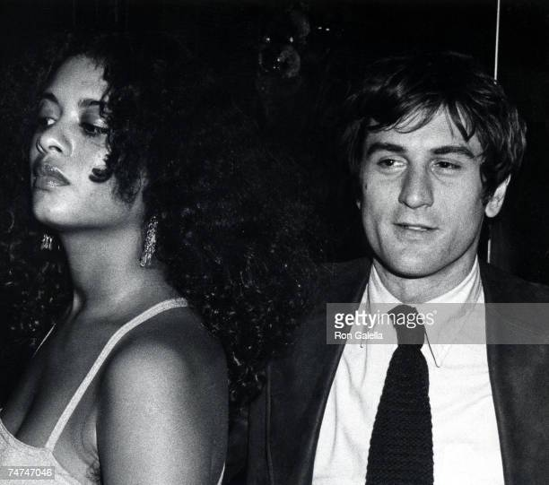 Robert De Niro and Diahnne Abbott at the The Palace Theater in New York City, New York