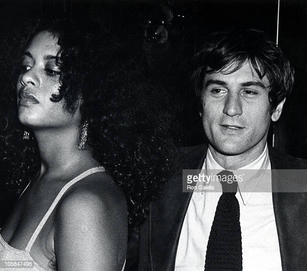 Robert De Niro and Diahnne Abbott during Opening of Shirley MacLaine's One Woman Show at The Palace Theater in New York City, New York, United States.