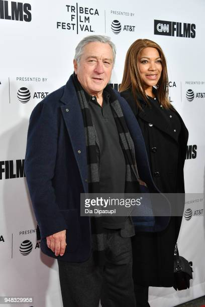 Robert De Niro and Grace Hightower attend the opening night gala of Love Gilda during the 2018 Tribeca Film Festival at Beacon Theatre on April 18...