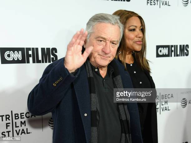"""Robert De Niro and Grace Hightower attend the Opening Night Gala of """"Love, Gilda"""" - 2018 Tribeca Film Festival at Beacon Theatre on April 18, 2018 in..."""