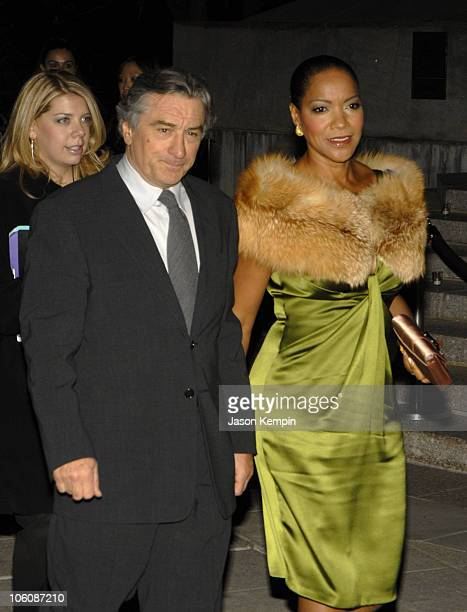 Robert De Niro and Grace Hightower during 5th Annual Tribeca Film Festival Vanity Fair Party Arrivals at New York State Supreme Court in New York...