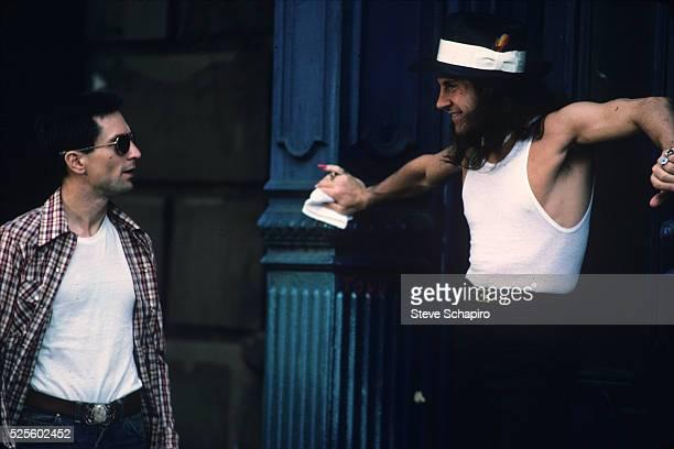 Robert De Niro and Harvey Keitel