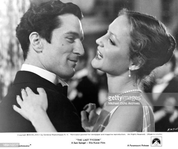Robert De Niro and Ingrid Boulting dancing together in a scene from the film 'The Last Tycoon' 1976