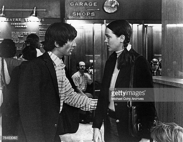 Robert De Niro and Leigh TaylorYoung perform a scene in The Gang That Couldn't Shoot Straight directed by James Goldstone in 1971 in New York New York