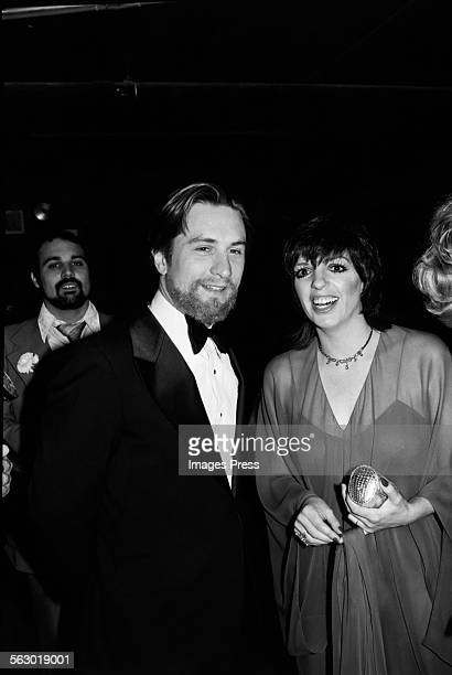 Robert De Niro and Liza Minnelli at Studio 54 circa 1979 in New York City