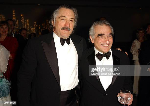 Robert De Niro and Martin Scorsese during 31st AFI Life Achievement Award Presented to Robert De Niro After Party in Hollywood California United...