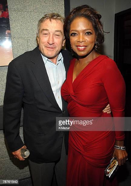 Robert De Niro and Oprah Winfrey