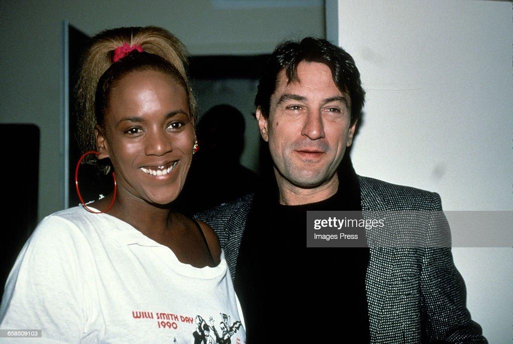 Robert De Niro and Toukie Smith circa 1990 in New York ...