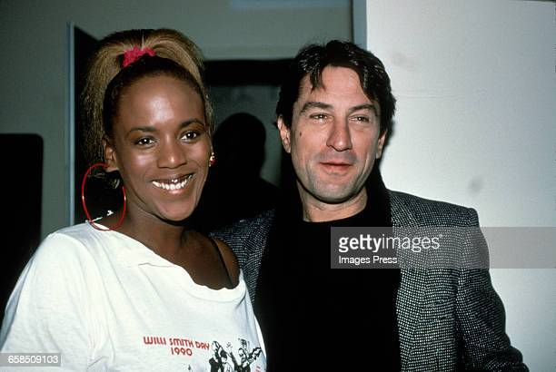 Robert De Niro and Toukie Smith circa 1990 in New York City