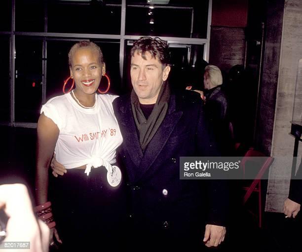 Robert De Niro and Toukie Smith