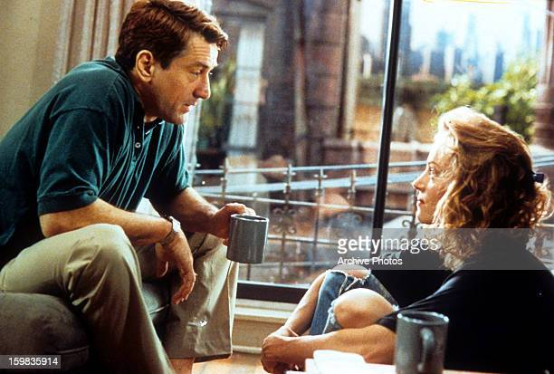 Robert De Niro and Uma Thurman in a scene from the film 'Mad Dog and Glory' 1993