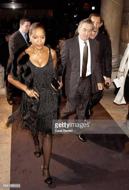 Robert De Niro And Wife Grace Hightower The Royal Academy Of Arts Presents The Exhibition Of Giorgio Armani A Retrospective