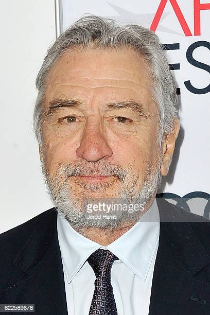 Robert De Niro arrives at Premiere of Sony Pictures Classics' 'The Comedian' at the Egyptian Theatre on November 11 2016 in Hollywood California