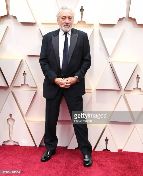 Robert De Niro arrives at the 92nd Annual Academy Awards at Hollywood and Highland on February 09 2020 in Hollywood California