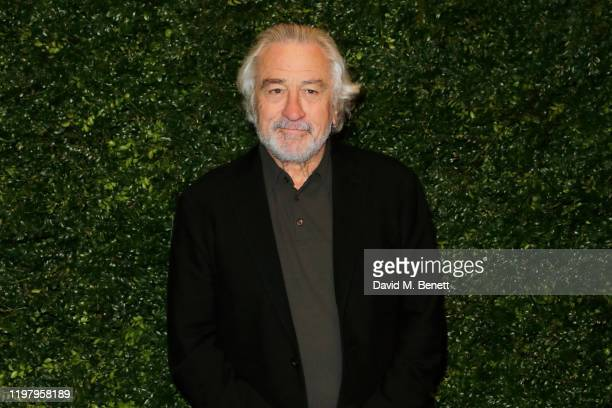 Robert De Niro arrives at the Charles Finch & CHANEL Pre-BAFTA Party at 5 Hertford Street on February 1, 2020 in London, England.