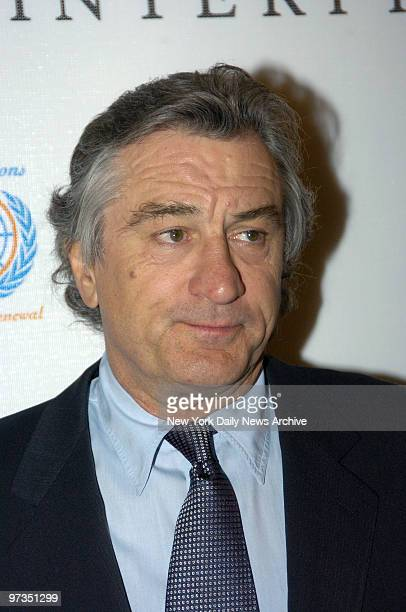 Robert De Niro arrives at the Ziegfeld Theatre to attend the premiere of 'The Interpreter' on opening night of the fourth annual Tribeca Film...
