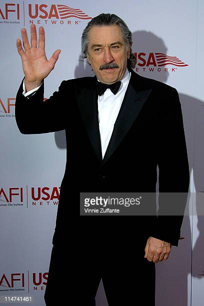 Robert De Niro arriving at the 31st AFI Life Achievement Award presented to Robert De Niro at the Kodak Theatre in Hollywood CA