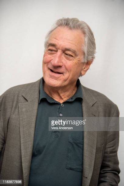 Robert De Niro at The Irishman Press Conference at the Four Seasons Hotel on October 25 2019 in Beverly Hills California