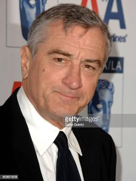 Robert De Niro attends 18th Annual BAFTA/LA Britannia Awards on November 5, 2009 in Century City, California.