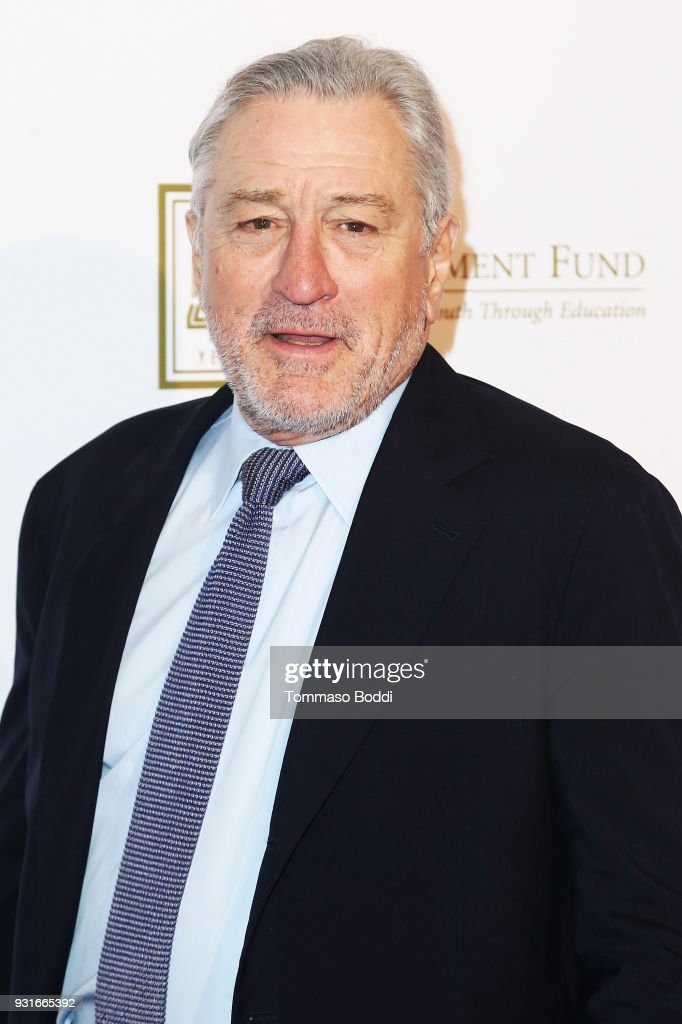 Robert De Niro attends A Legacy Of Changing Lives Presented By The Fulfillment Fund at The Ray Dolby Ballroom at Hollywood & Highland Center on March 13, 2018 in Hollywood, California.