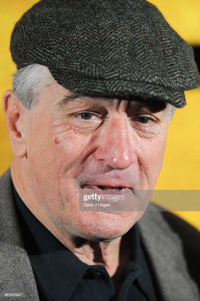 Robert De Niro attends a photo call for 'Grudge Match' at The Dorchester Hotel on January 9, 2014 in London, England.