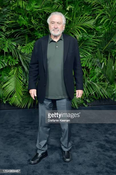 Robert De Niro attends CHANEL and Charles Finch Pre-Oscar Awards Dinner at Polo Lounge at The Beverly Hills Hotel on February 08, 2020 in Beverly...