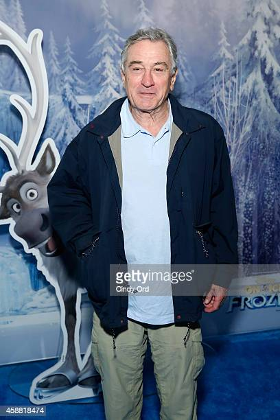Robert De Niro attends Disney On Ice presents Frozen at Barclays Center on November 11 2014 in New York City