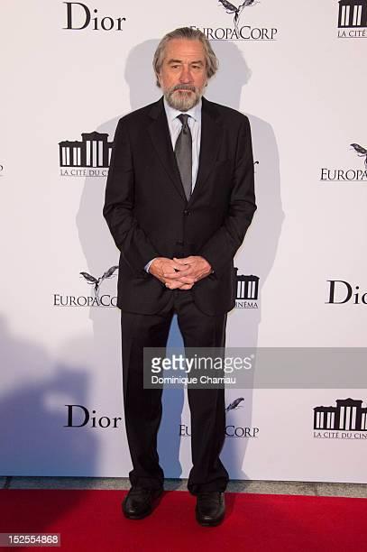 Robert De Niro attends 'La Cite Du Cinema' Launch on September 21 2012 in SaintDenis France