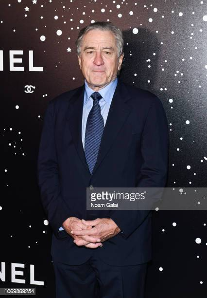 Robert De Niro attends the 2018 Museum of Modern Art Film Benefit A Tribute To Martin Scorsese at Museum of Modern Art on November 19 2018 in New...
