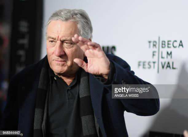 TOPSHOT Robert De Niro attends the 2018 Tribeca Film Festival opening night premiere of 'Love Gilda' at Beacon Theatre on April 18 2018 in New York...