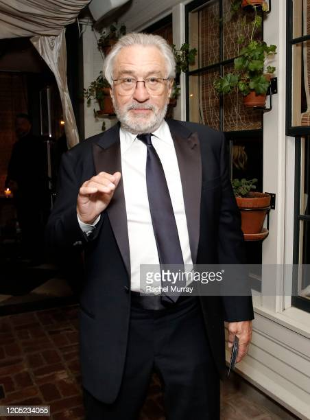 Robert De Niro attends the 2020 Netflix Oscar After Party at San Vicente Bugalows on February 09 2020 in West Hollywood California