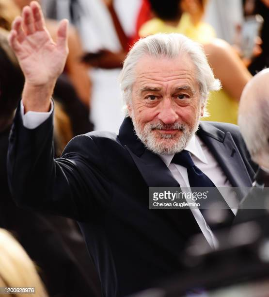 Robert De Niro attends the 26th annual Screen ActorsGuild Awards at The Shrine Auditorium on January 19, 2020 in Los Angeles, California.