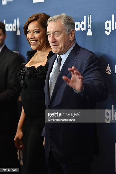 Robert De Niro attends the 27th Annual GLAAD Media Awards in New York on May 14 2016 in New York City