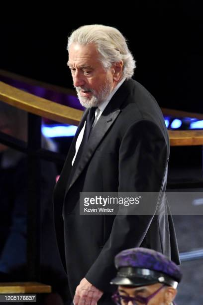 Robert De Niro attends the 92nd Annual Academy Awards at Dolby Theatre on February 09 2020 in Hollywood California