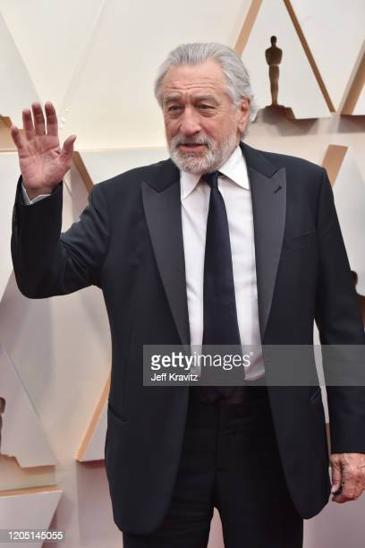 Robert De Niro attends the 92nd Annual Academy Awards at Hollywood and Highland on February 09 2020 in Hollywood California