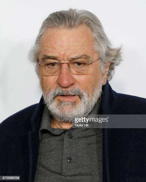 Robert De Niro attends the Clive Davis The Soundtrack of Our Lives 2017 Opening Gala of the Tribeca Film Festival at Radio City Music Hall on April...