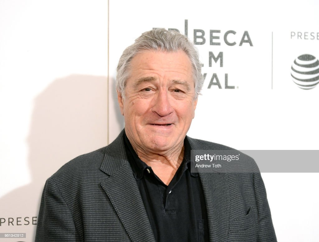 Robert De Niro attends the DIRECTTV Premiere Of 'Women Walks Ahead' At 2018 Tribeca Film Festival on April 25, 2018 in New York City.