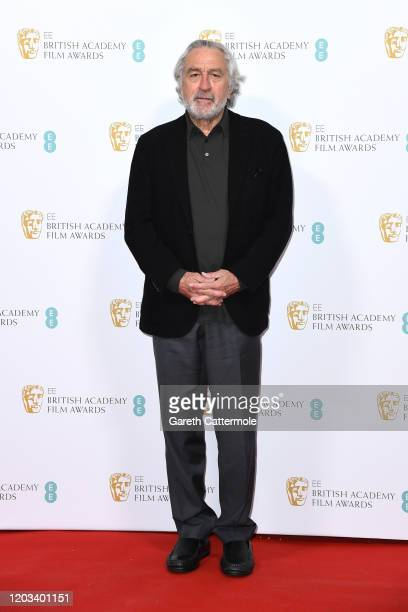 Robert De Niro attends the EE British Academy Film Awards 2020 Nominees' Party at Kensington Palace on February 01 2020 in London England