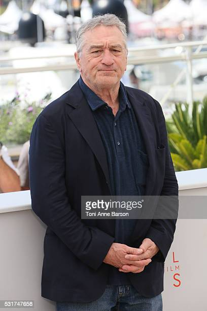 Robert De Niro attends the 'Hands Of Stone' Photocall during the 69th annual Cannes Film Festival on May 16 2016 in Cannes France