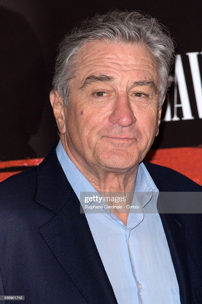 Robert De Niro attends the 'Malavita' premiere at Europacorp Cinemas at Aeroville Shopping Center, in Roissy-en-France, France.