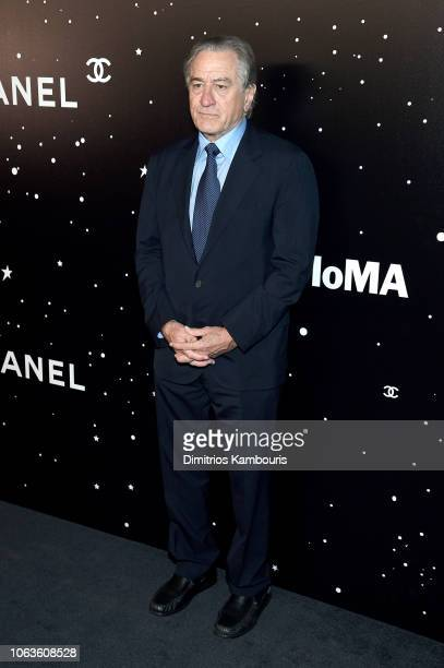 Robert De Niro attends The Museum Of Modern Art Film Benefit Presented By CHANEL A Tribute To Martin Scorsese on November 19 2018 in New York City