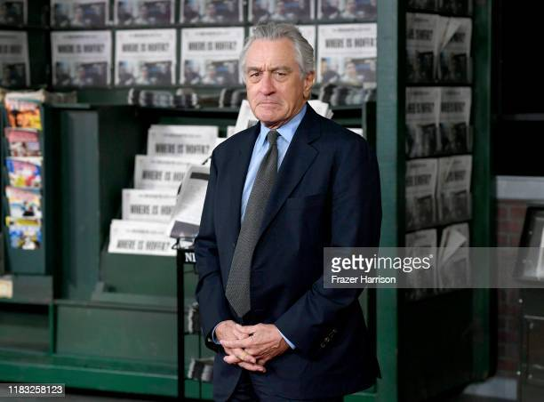 """Robert De Niro attends the Premiere of Netflix's """"The Irishman"""" at TCL Chinese Theatre on October 24, 2019 in Hollywood, California."""