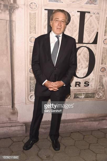 Robert De Niro attends the Ralph Lauren 50th Anniversary event during New York Fashion Week at Bethesda Terrace on September 7 2018 in New York City